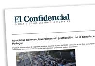 Autopistas ruinosas, inversiones sin justificación No es España, es Portugal