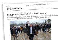 Portugal vuelve a decidir entre incertidumbre
