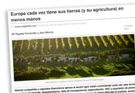 Europa cada vez tiene sus tierras y su agricultura en menos manos