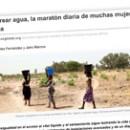 Acarrear agua, la maratón diaria de muchas mujeres en África