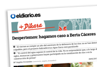 Despertemos Hagamos caso a Berta Cáceres