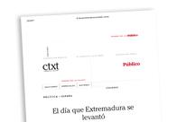 El día que Extremadura se levantó