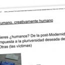 Seres ¿humanos¿ De la post-Modernidad impuesta a la pluriversidad deseada desde nos-Otras (las víctimas)
