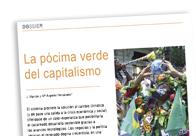 La pócima del capitalismo verde
