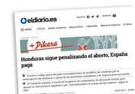 Honduras sigue penalizando el aborto, España paga