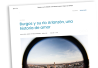 Burgos y su río Arlanzón, una historia de amor