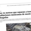Los 25 metros que separan a tres poblaciones mexicanas de morir ahogadas
