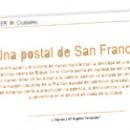 Una postal de San Francisco