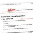 Feministas contra las guerras y las fronteras