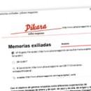 Memorias exiliadas