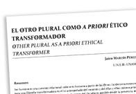 El Otro plural como a priori ético transformador