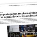 Los portugueses respiran optimismo tras superar los efectos del rescate