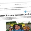 Berta Cáceres se queda sin justicia
