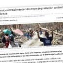 Polémica retroalimentación entre degradación ambiental y pobreza
