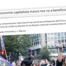 """""""La economía capitalista nunca nos va a beneficiar"""""""