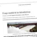 El auge mundial de las hidroeléctricas