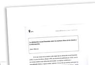 La disfunción sexual femenina entre los matices éticos de la ciencia y la información