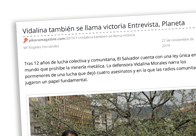 Entrevista Vidalina Morales
