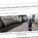 Los otros grandes desastres 'naturales' en América Latina