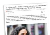 Entrevista Leonor Zúniga