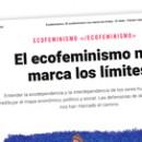 El ecofeminismo nos marca los límites