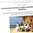 Los proyectos turísticos asedian al pueblo garífuna de Honduras