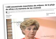 1000 assassinats masclistes als Mitjans
