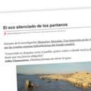 El eco silenciado de los pantanos