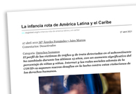 La infancia rota de América Latina y el Caribe